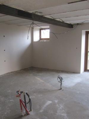 Rénovation de l'espace cuisine - salle à manger à Gérouville
